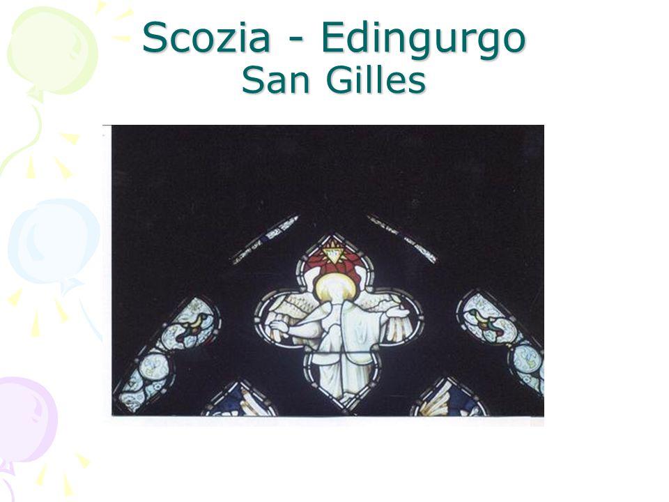 Scozia - Edingurgo San Gilles
