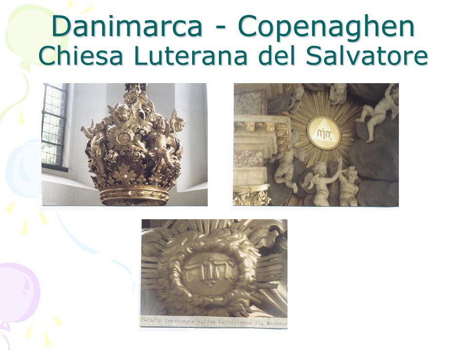 Danimarca - Copenaghen Chiesa Luterana del Salvatore