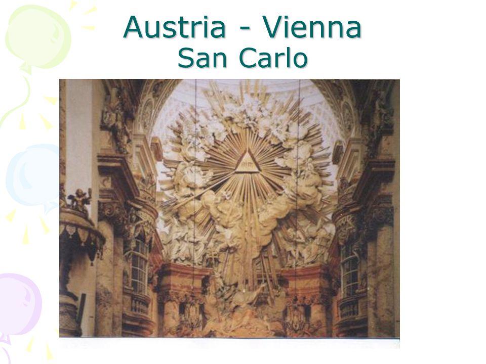 Austria - Vienna San Carlo