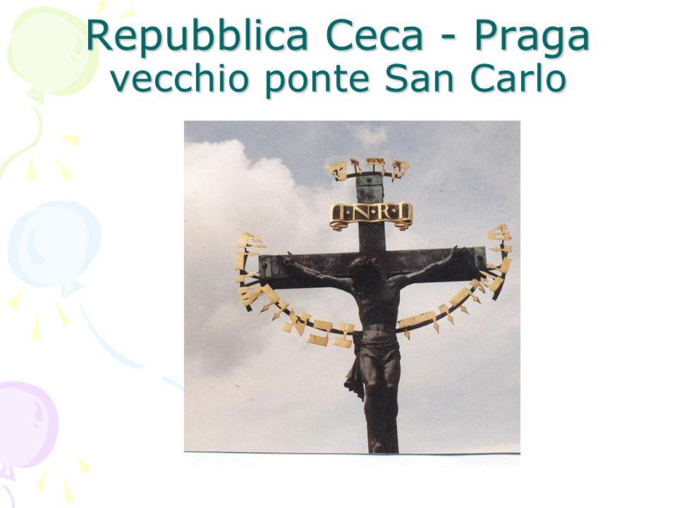 Repubblica Ceca - Praga vecchio ponte San Carlo