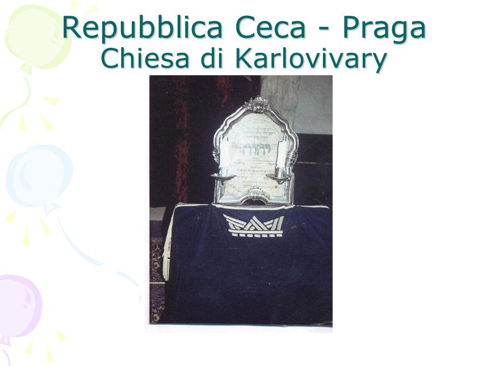 Repubblica Ceca - Praga Chiesa di Karlovivary
