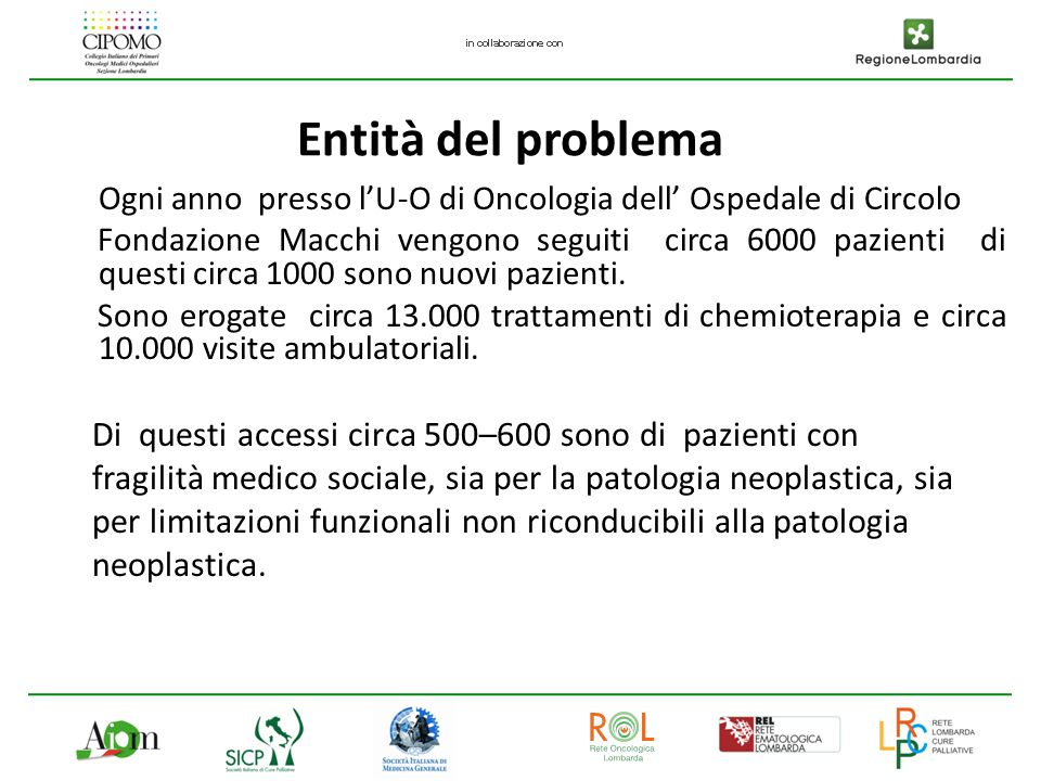 Il Progetto di SIMULTANEOUS HOME CARE si propone di garantire la continuità assistenziale ai pazienti dimessi dall' U.O.