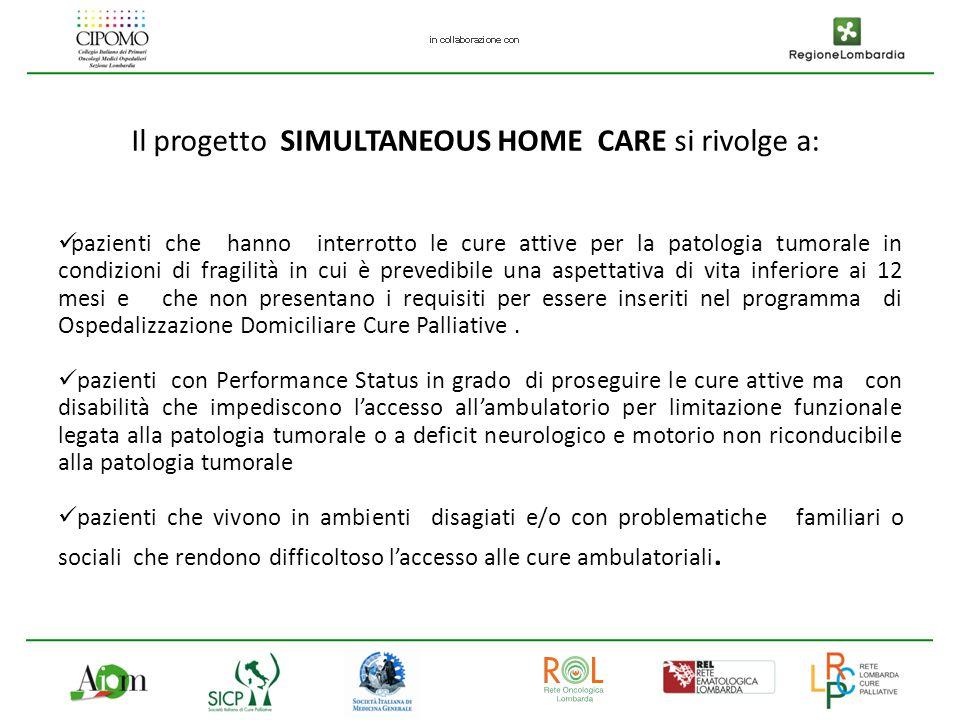 Obiettivi Assicurare la continuità terapeutica ed assistenziale ai pazienti oncologici dimessi dalla U.O.