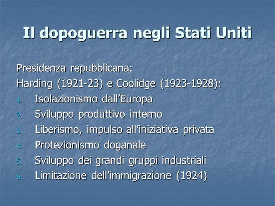 La grande crisi: il caso italiano Nel 1933 nasce l'Iri (Istituto ricostruzione industriale): ente bancario-industriale a carattere misto, in parte statale e in parte privato.