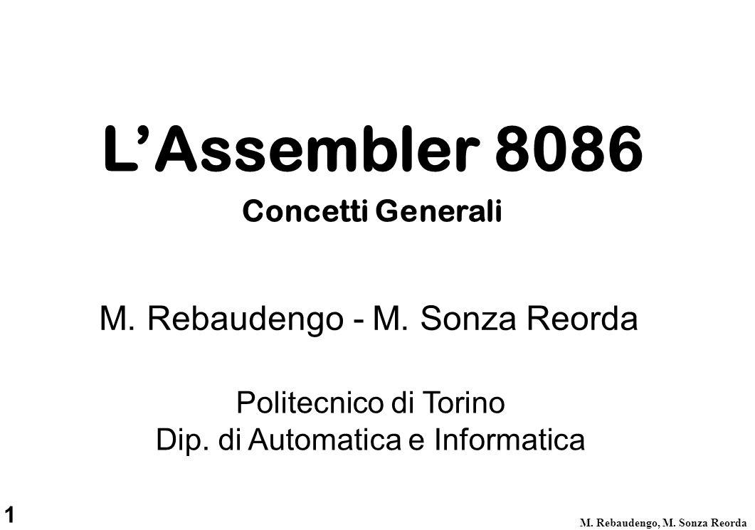 1 M. Rebaudengo, M. Sonza Reorda Politecnico di Torino Dip.