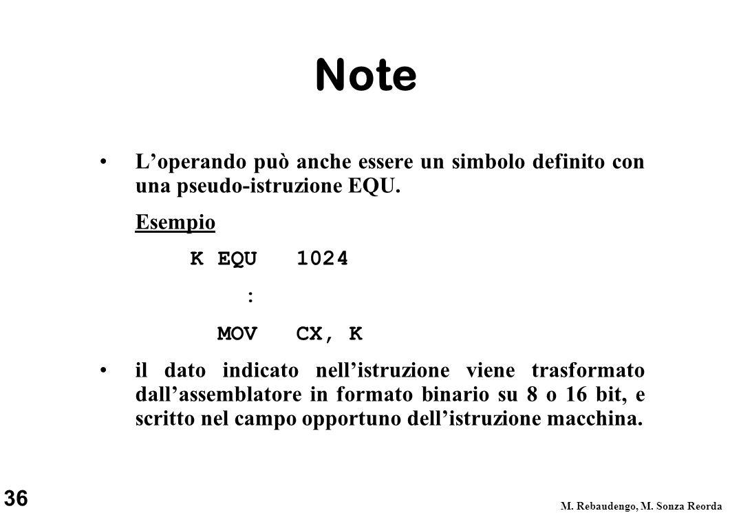 36 M. Rebaudengo, M.