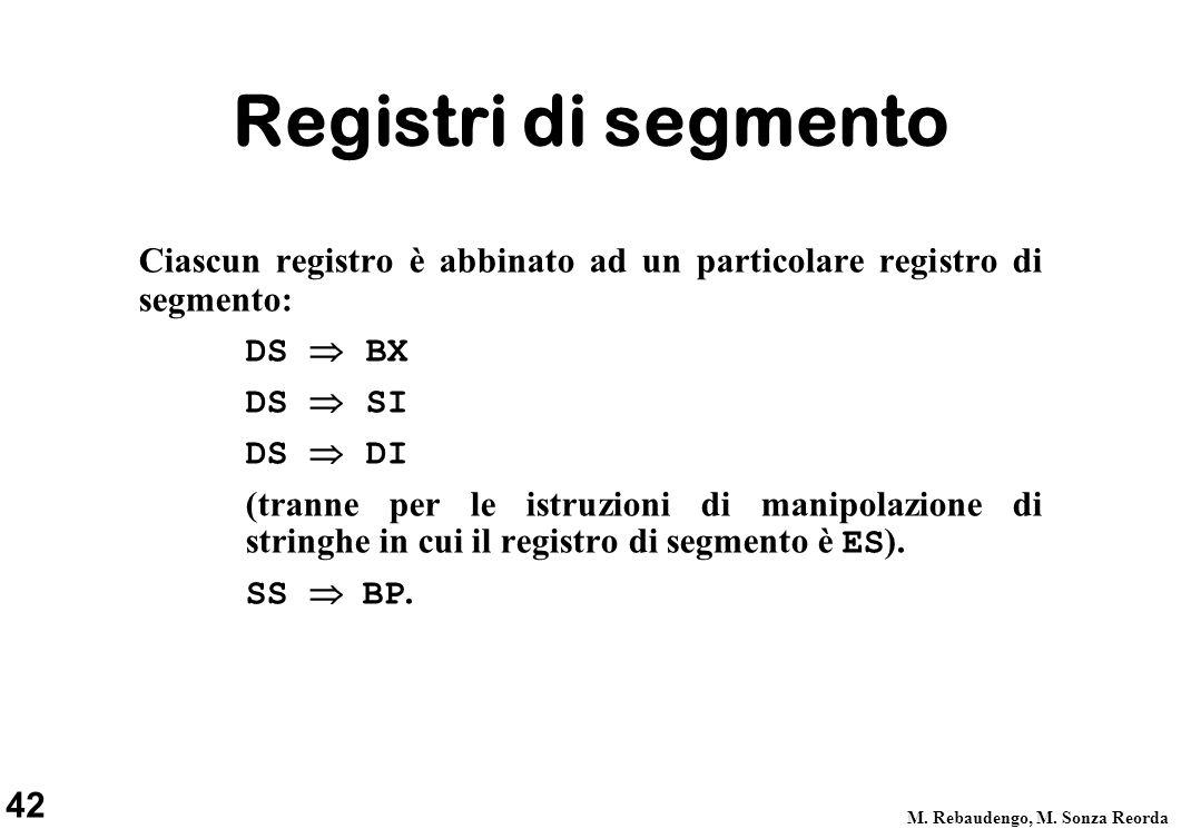 42 M. Rebaudengo, M.