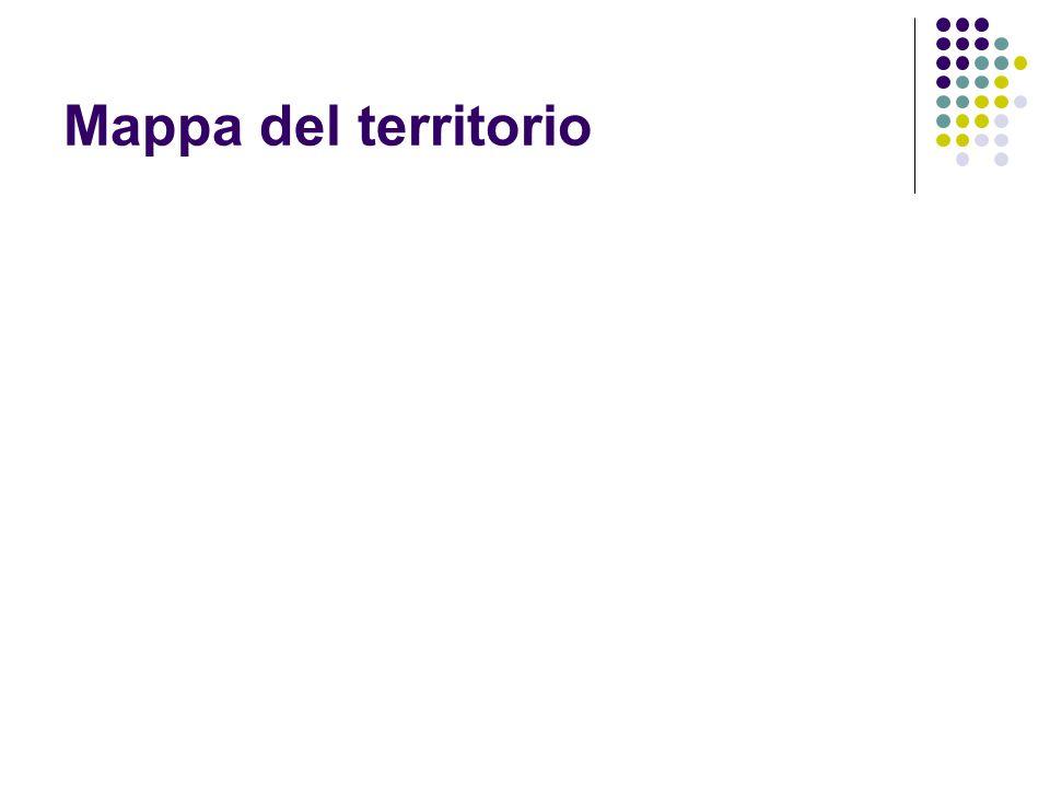 Dati del territorio area in km² a confronto con altri paesi del mondo e con l'Italia.