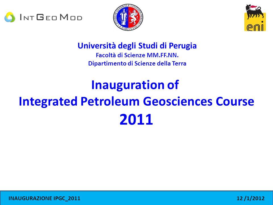 Università degli Studi di Perugia Facoltà di Scienze MM.FF.NN.