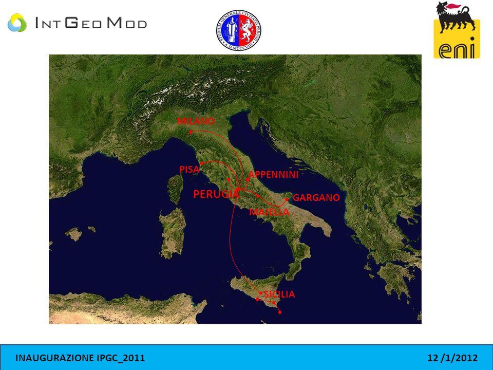 MILANO PISA APPENNINI MAJELLA GARGANO SICILIA PERUGIA INAUGURAZIONE IPGC_201112 /1/2012