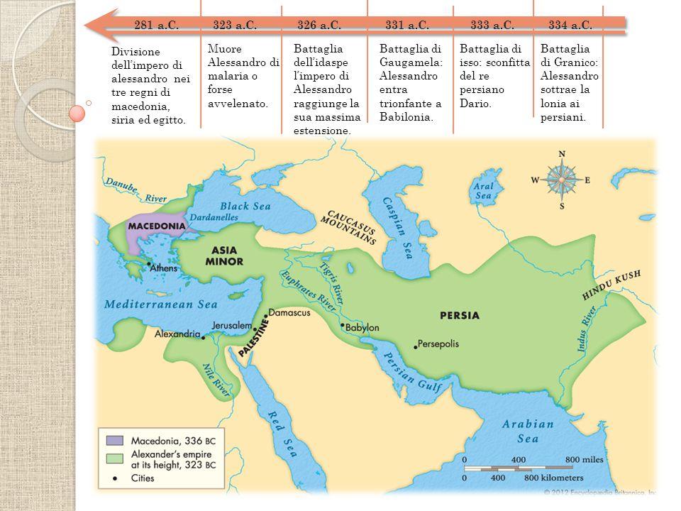 281 a.C.323 a.C. 326 a.C. 331 a.C. 333 a.C. 334 a.C.