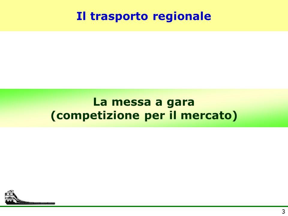 4 Una riforma a metà Nel 2000 i servizi regionali sono spacchettati alle Regioni.
