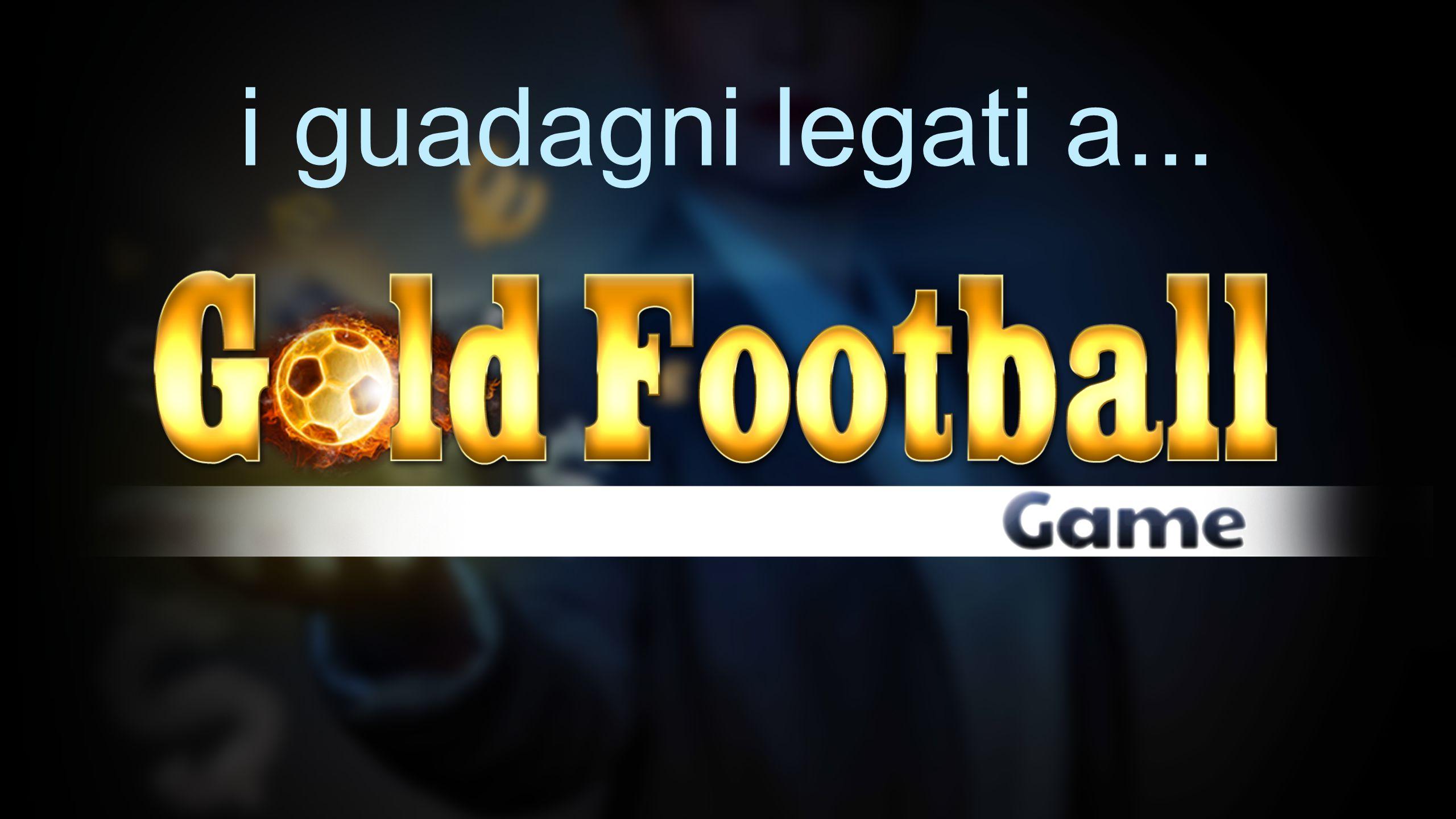 GFG Coin Premium Sono aggiudicati a tutti i vincitori dei Tornei di Gold Football Game Ad oggi il giocatore assiduo vince in media il 20% dei Tornei giocati.