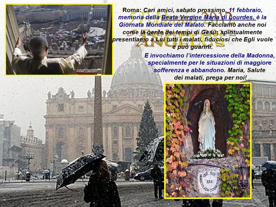 LOURDES, domenica, 14/09/2008 –Benedetto XVI << Indicaci la via verso il regno del tuo Figlio Gesù.