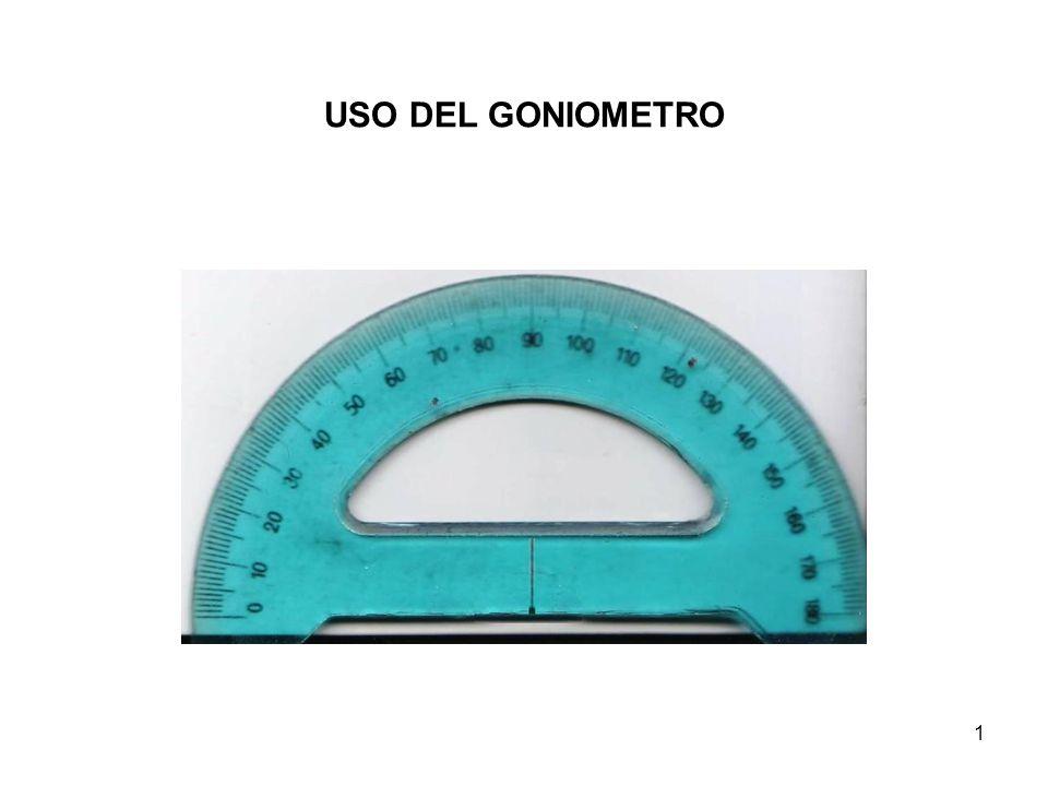 1 USO DEL GONIOMETRO