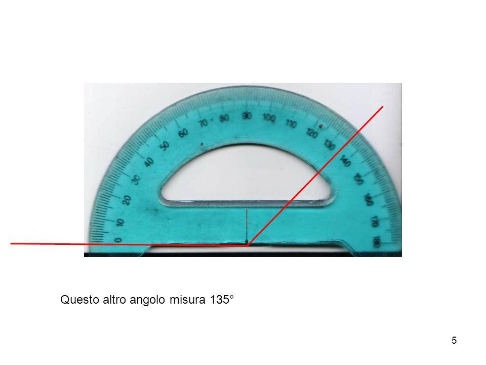 6 Ora vogliamo costruire un angolo di una ampiezza data, per esempio di 120°.