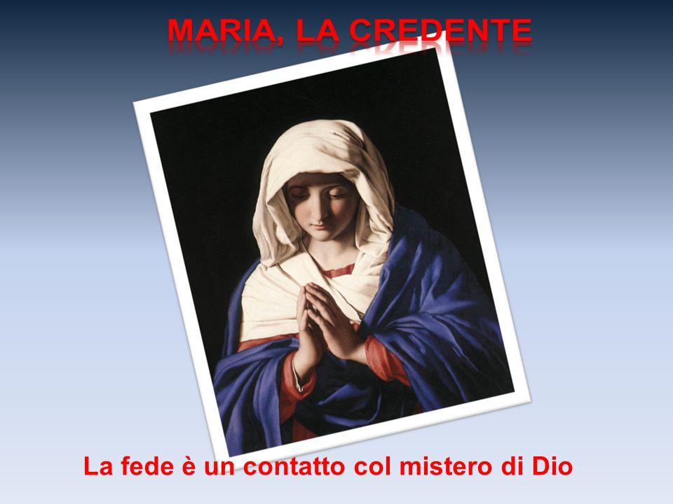 L'evangelista Luca riempie il suo vangelo dell'invito a una fede senza ritorni, fa di Maria il modello esemplare del credente, colei che vive la fede senza alcun cedimento