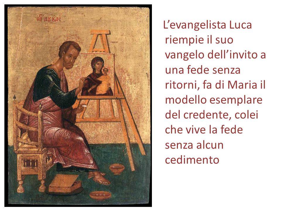 Il Magnificat rieccheggia le espressioni di supplica e di ringraziamento di Lia e Anna Gn 29, 32: Così Lia concepì e partorì un figlio e lo chiamò Ruben, perché disse: Il Signore ha visto la mia umiliazione; certo, ora mio marito mi amerà! Gn 30,13: Lia disse: Per mia felicità.