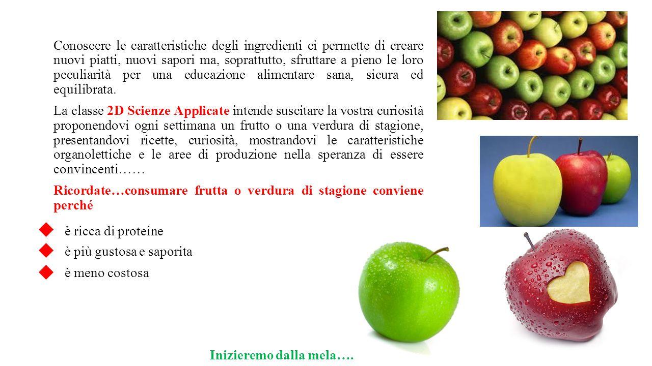 Conoscere le caratteristiche degli ingredienti ci permette di creare nuovi piatti, nuovi sapori ma, soprattutto, sfruttare a pieno le loro peculiarità