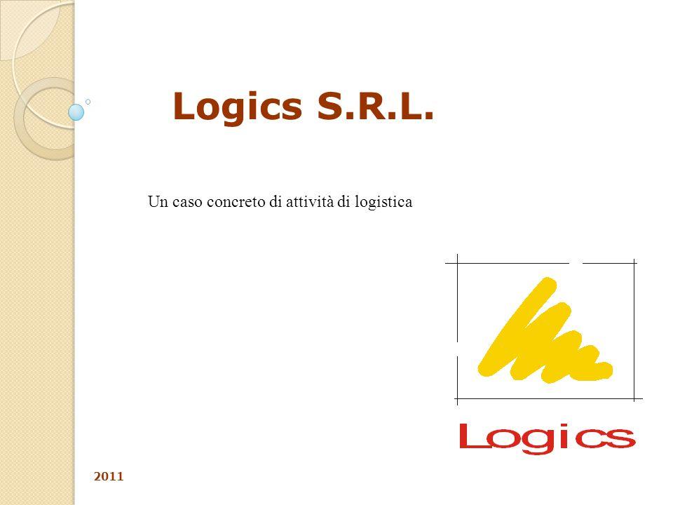 Logics S.R.L. 2011 Un caso concreto di attività di logistica