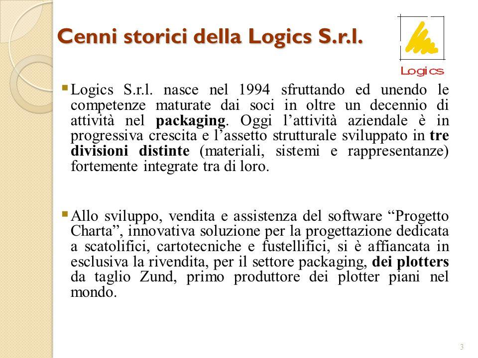 Cenni storici della Logics S.r.l.3  Logics S.r.l.