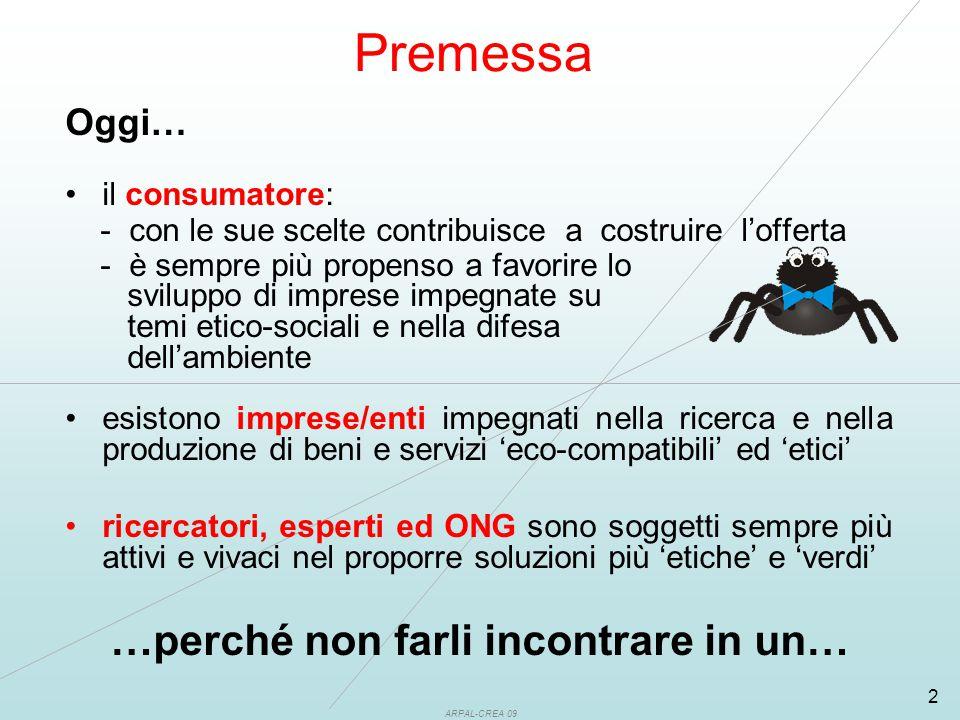 ARPAL-CREA 09 3 Centro di Educazione al Consumo Sostenibile