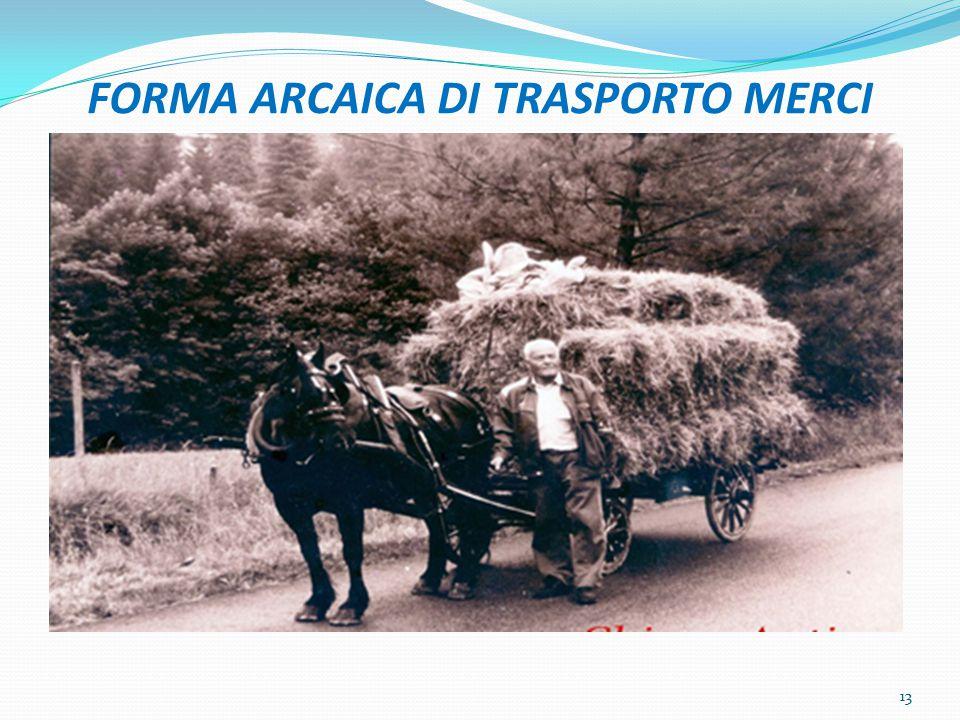 FORMA ARCAICA DI TRASPORTO MERCI 13