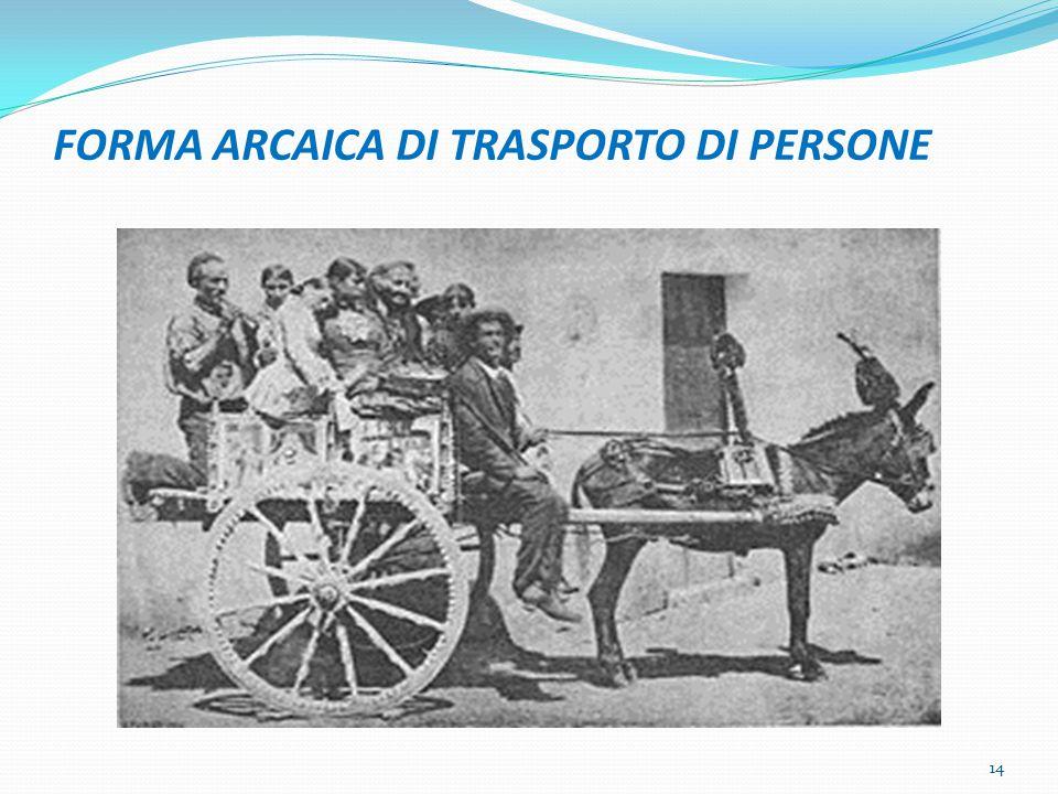 FORMA ARCAICA DI TRASPORTO DI PERSONE 14