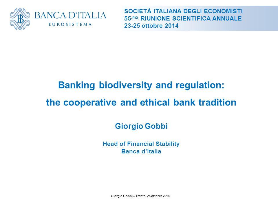 2 Fonte: Giorgio Gobbi, ''Il ruolo della banca locale nel finanziamento delle imprese'', in La crisi dell'impresa nelle reti e nei gruppi, Cedam, Padova, 2005.