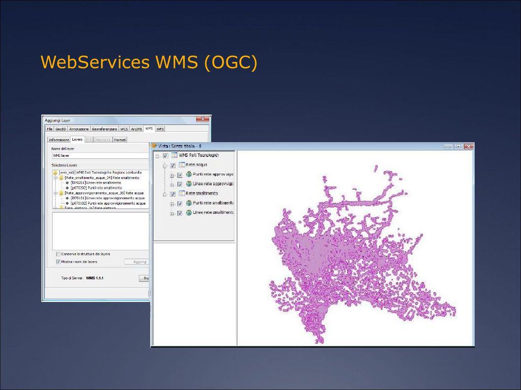 WebServices WMS (OGC)