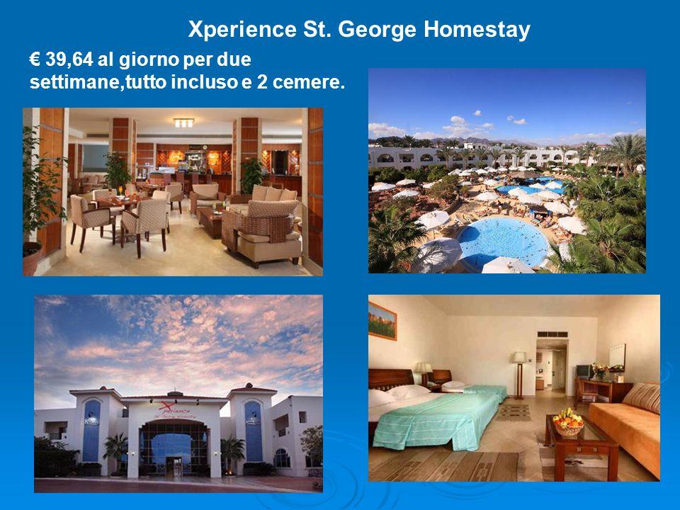 Xperience St. George Homestay € 39,64 al giorno per due settimane,tutto incluso e 2 cemere.