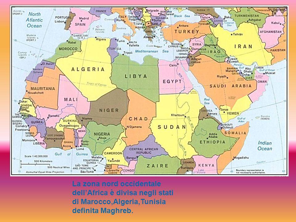 Il Massiccio dell'Atlante è il complesso montuoso più imponente dell'Africa settentrionale.
