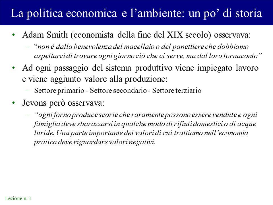 Lezione n.1 Conferenza di Rio Conferenza mondiale su ambiente e sviluppo di Rio de Janeiro (1992).