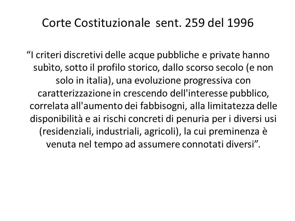 Corte Costituzionale sent.