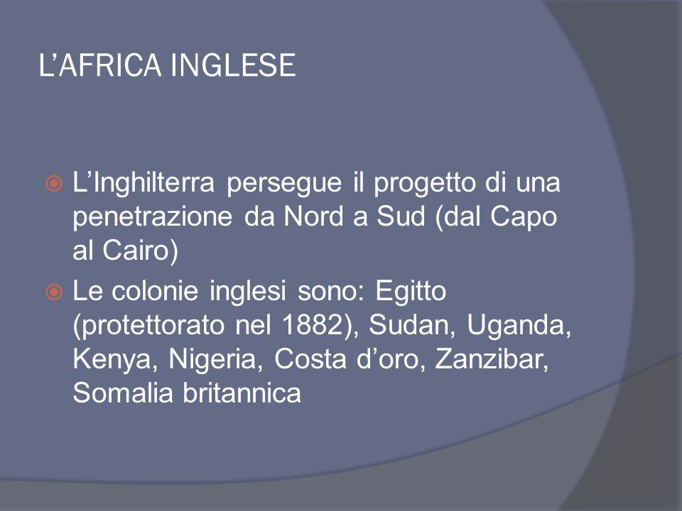 ASIA FRANCESE  INDOCINA: diviene sfera di penetrazione della Francia, che nel 1885 riesce ad estendere il suo potere sull'intero territorio  Nasce l'Unione Indocinese