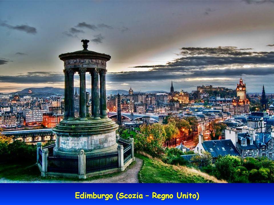 Edimburgo (Scozia – Regno Unito)