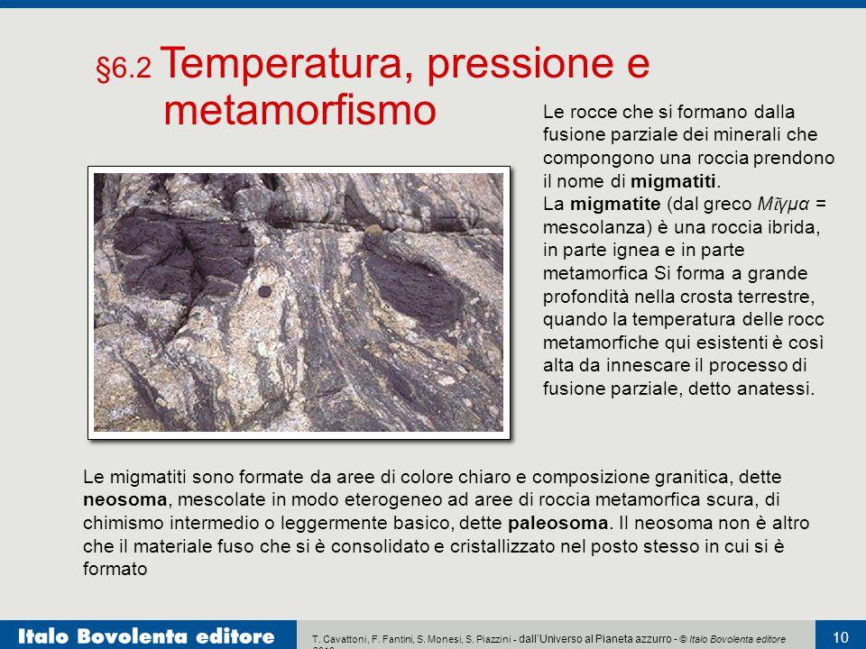 T. Cavattoni, F. Fantini, S. Monesi, S. Piazzini - dall'Universo al Pianeta azzurro - © Italo Bovolenta editore 2010 10 Le rocce che si formano dalla