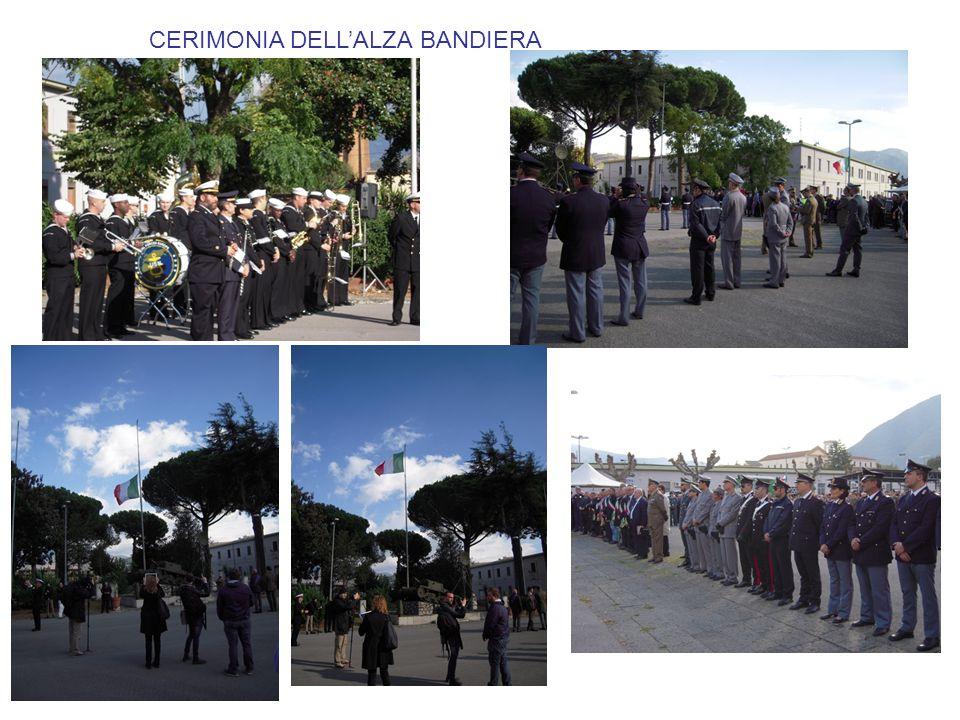 CERIMONIA DELL'ALZA BANDIERA