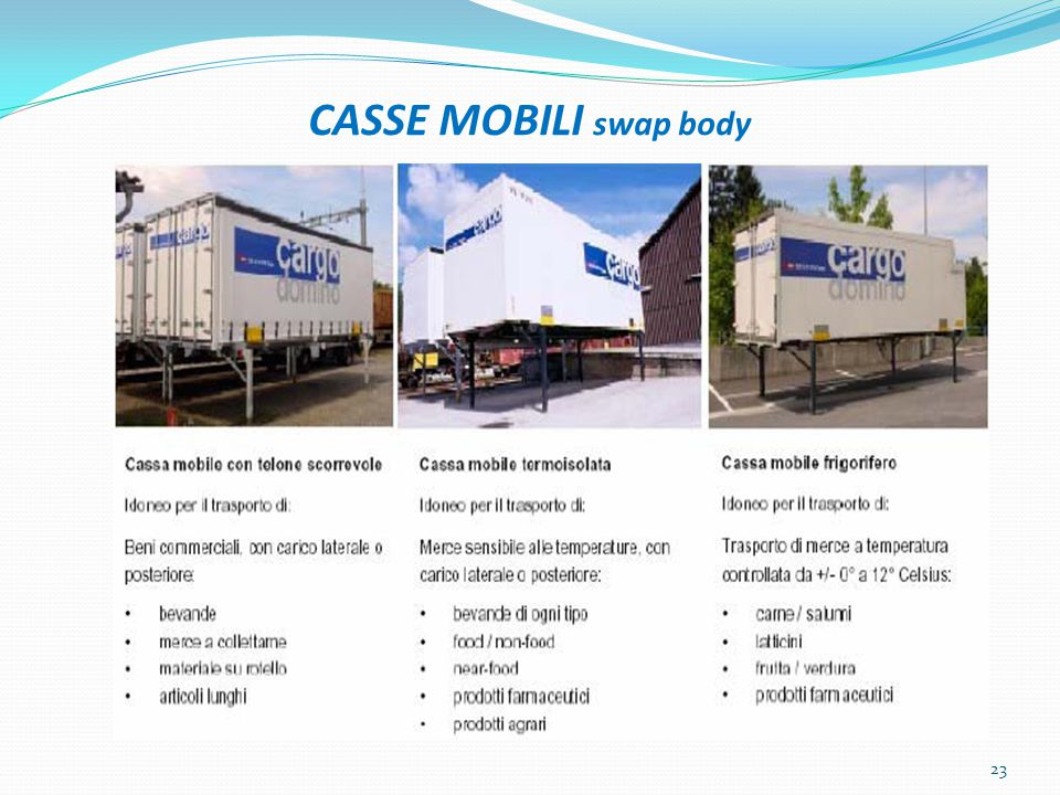 CASSE MOBILI swap body 23