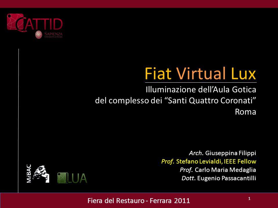 Issue 2 - Superfici riflettenti 12 Fiat Virtual Lux All'interno di un modello 3D, la camera percepisce le aperture del modello come superfici emittenti.