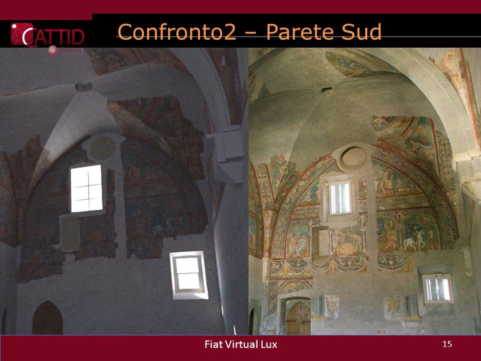 Confronto2 – Parete Sud 15 Fiat Virtual Lux 15 Fiat Virtual Lux 15 Fiat Virtual Lux