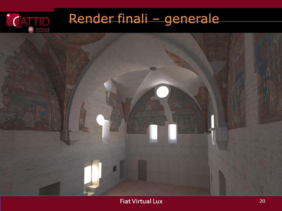 Render finali – generale 20 Fiat Virtual Lux 20 Fiat Virtual Lux 20 Fiat Virtual Lux