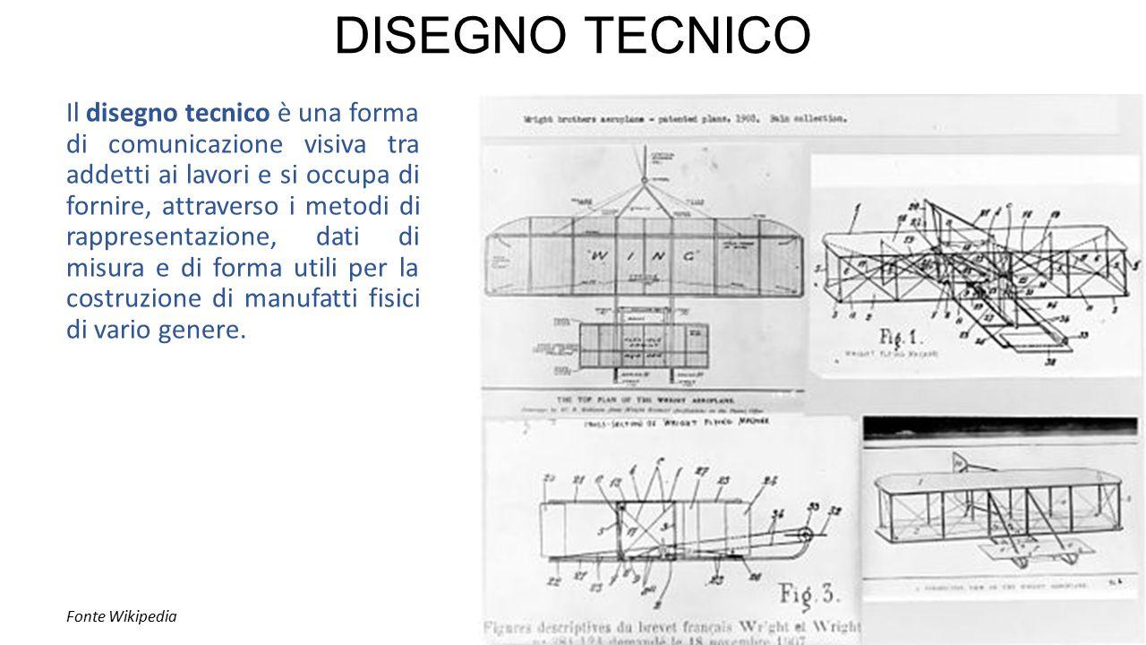 Il disegno tecnico è una forma di comunicazione visiva tra addetti ai lavori e si occupa di fornire, attraverso i metodi di rappresentazione, dati di