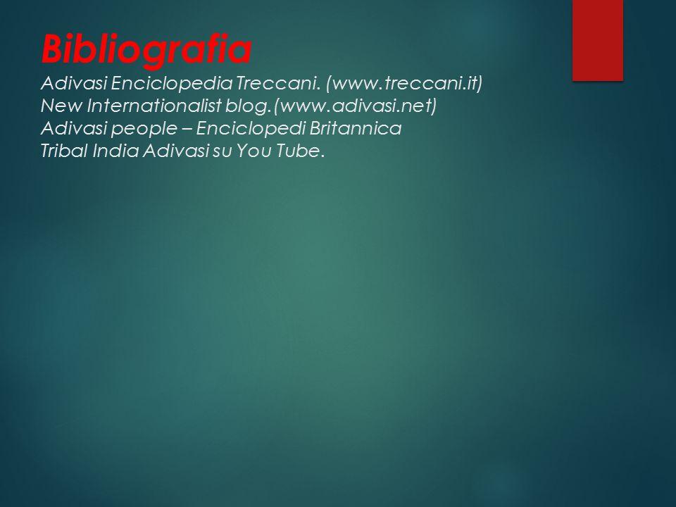 Bibliografia Adivasi Enciclopedia Treccani.