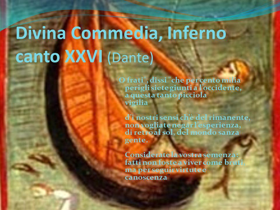 Divina Commedia, Inferno canto XXVI (Dante)