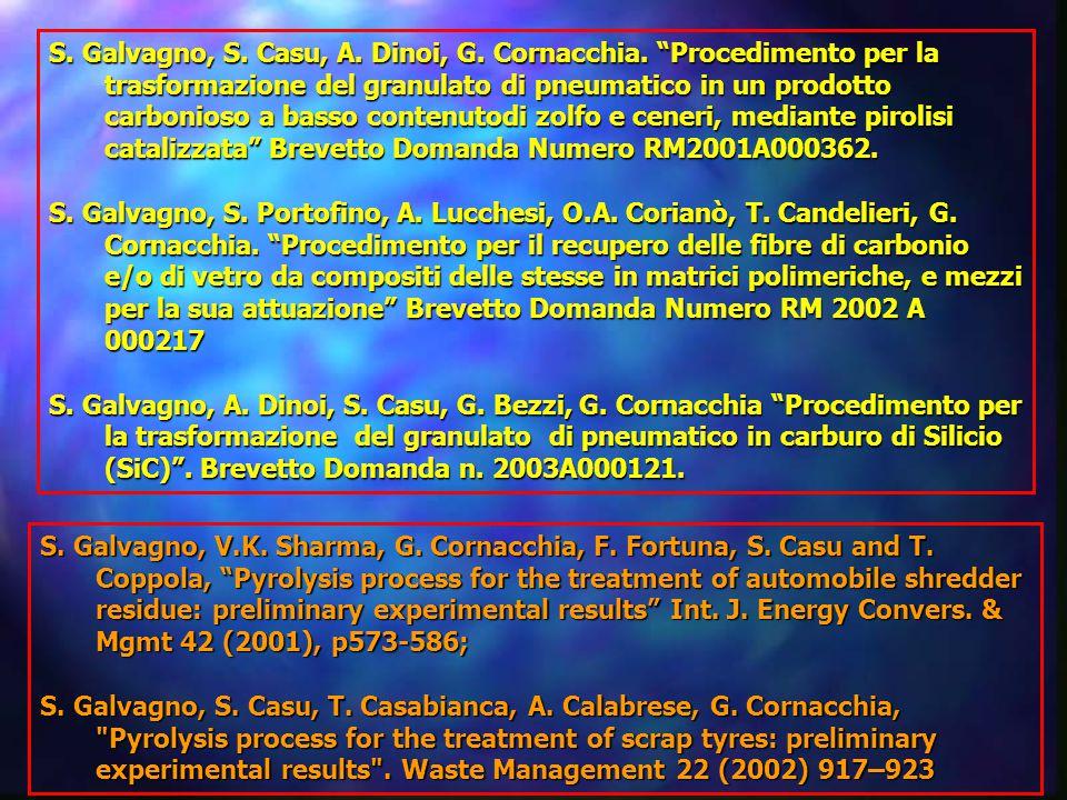 S.Galvagno, S. Casu, A. Dinoi, G. Cornacchia.
