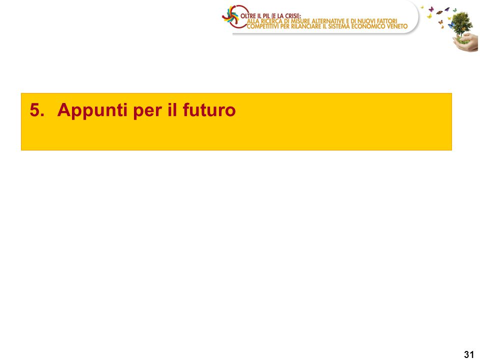 31 5.Appunti per il futuro
