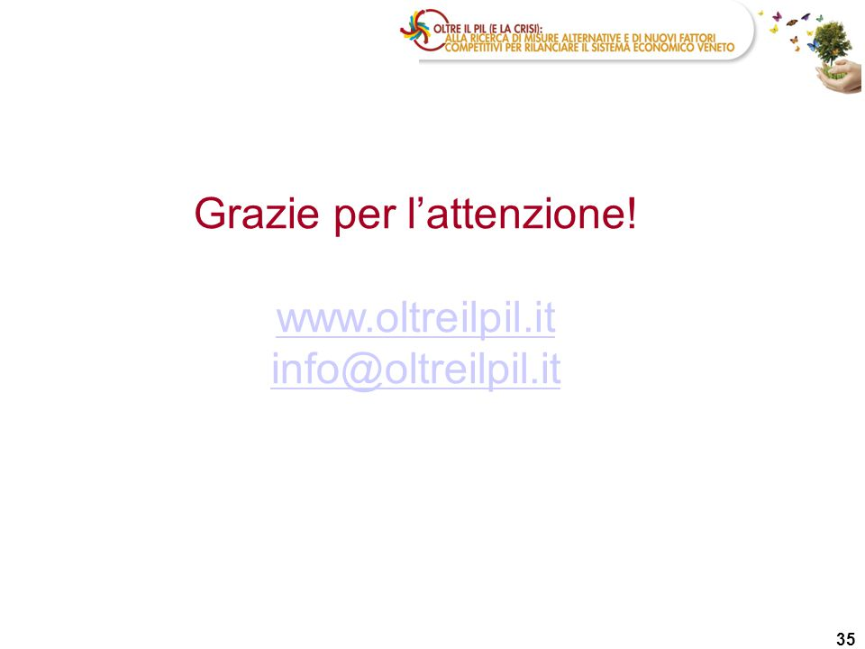 35 Grazie per l'attenzione! www.oltreilpil.it info@oltreilpil.it