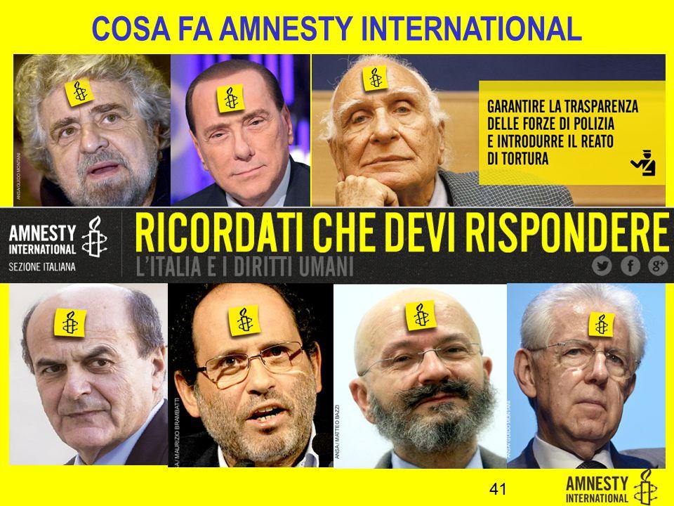 41 COSA FA AMNESTY INTERNATIONAL