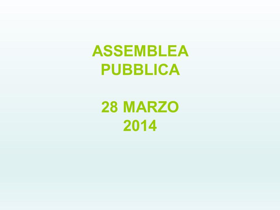 ASSEMBLEA PUBBLICA 28 MARZO 2014